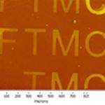 Ellipsometric image after click reaction on SAM C11OH